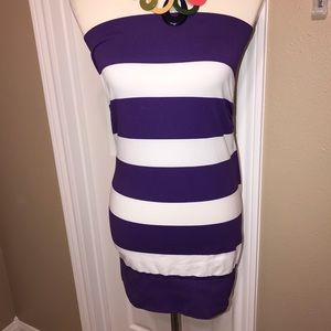 Charlotte Russe M / L ruched dress / top/ skirt 💜